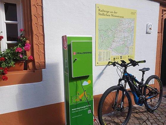E-Bike Ladestation Leinsweiler
