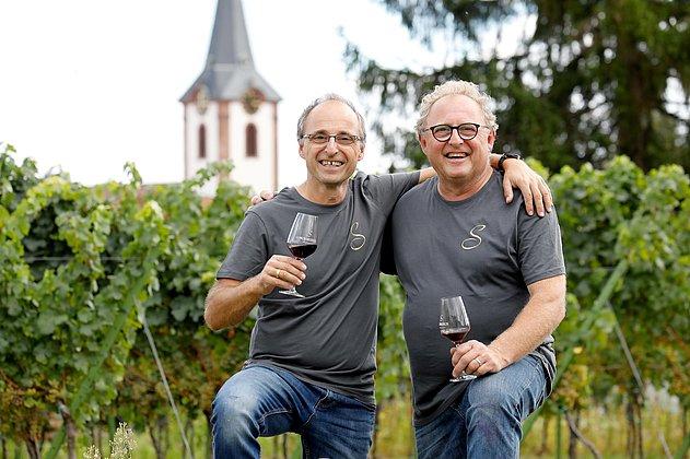 Volker und Bernd Schreieck