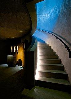 Kellerabgang Vinothek