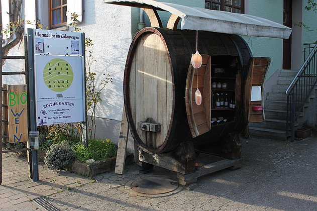 Verkauf Bioweingut Braun & Ediths Garten
