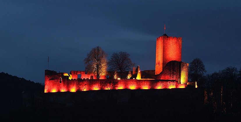 Burg Landeck Rosa