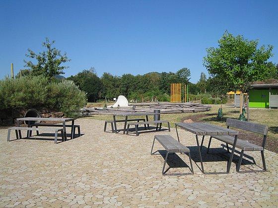 Barrierefreie Picknickplätze