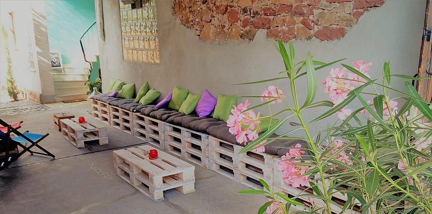 Lounge draußen