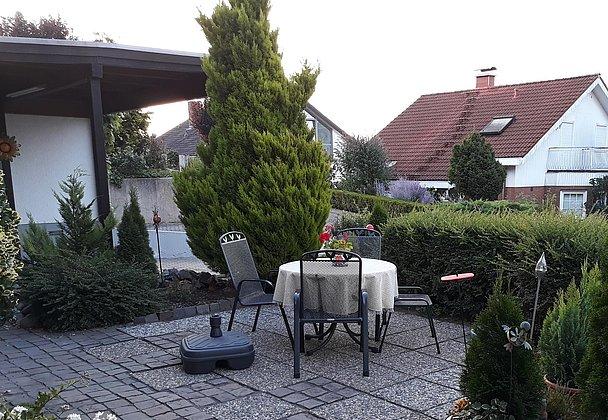 Sitzplatz im Freien
