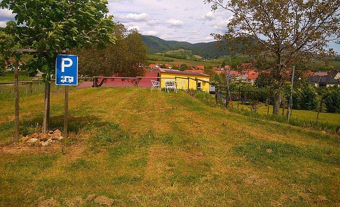 Reisemobilstellplätze am Weingut Herrenbergerhof