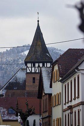 Ranschbach im Winter