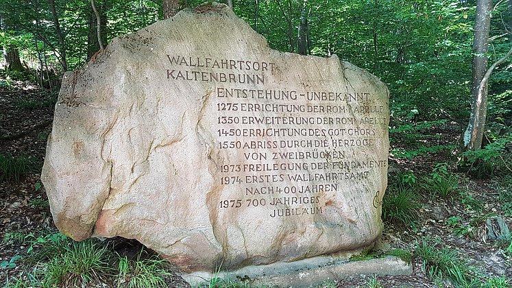 Entstehung des Wallfahrtsort Kaltenbrunn